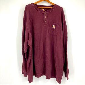 Carhartt Original Fit Long Sleeve Shirt